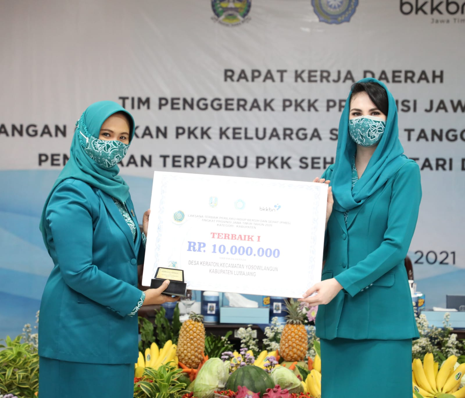 PKK Kab. Lumajang PHBS Terbaik Prov. Jawa Timur